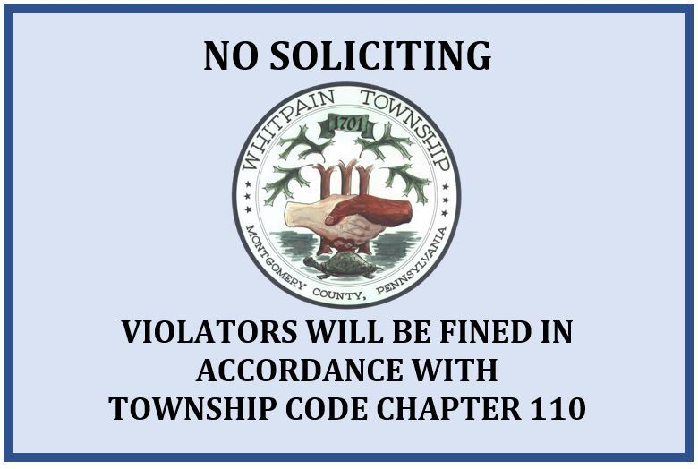 No Soliciting Photo