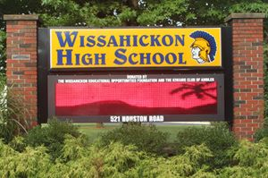 Wissahickon Schools Sign